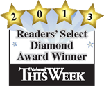 Reader's Select Award 2013